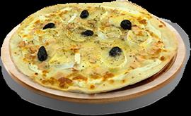 Pizza maya à 7,90 € - chèvre miel